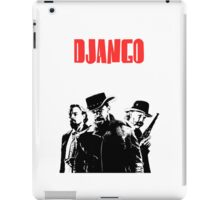 Django Unchained illustration Wild West Style Poster iPad Case/Skin