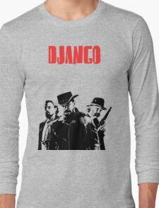 Django Unchained illustration Wild West Style Poster Long Sleeve T-Shirt