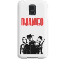 Django Unchained illustration Wild West Style Poster Samsung Galaxy Case/Skin