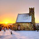 Upleatham Church at Sunrise by Darren Allen