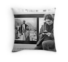 Worlds Apart .. Throw Pillow