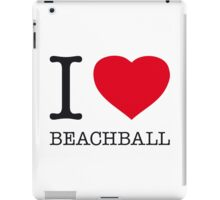 I ♥ BEACHBALL iPad Case/Skin