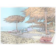 A GREEK beach.... Poster