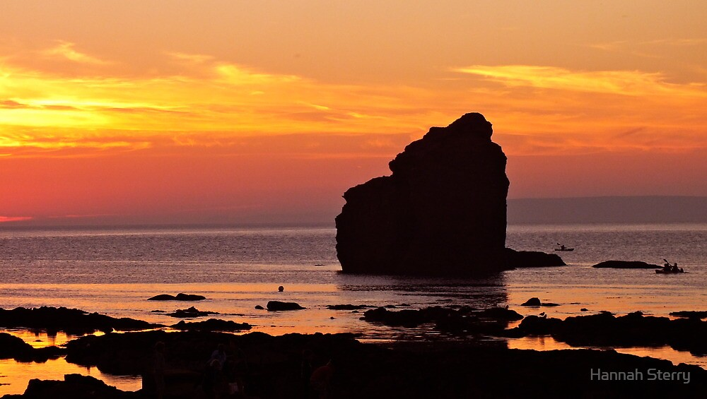 Thurlestone Rock by Hannah Sterry