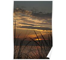 Sunset at Silver Beach Poster