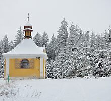 Chapel of St Antonin, nr Rounek Czech republic by dalekenworthy