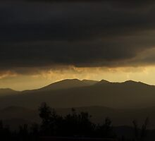 Mount Stromlo Sunset by peterhau