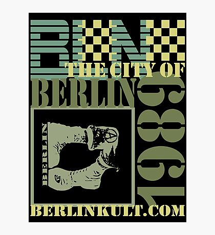 BERLIN Photographic Print