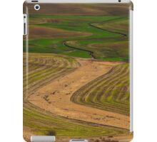 Palouse Meanders iPad Case/Skin