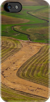 Palouse Meanders by Dan Mihai