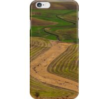Palouse Meanders iPhone Case/Skin