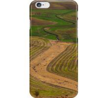 Palouse Meanders iPhone Case/Skin