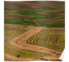 Palouse Meanders Poster