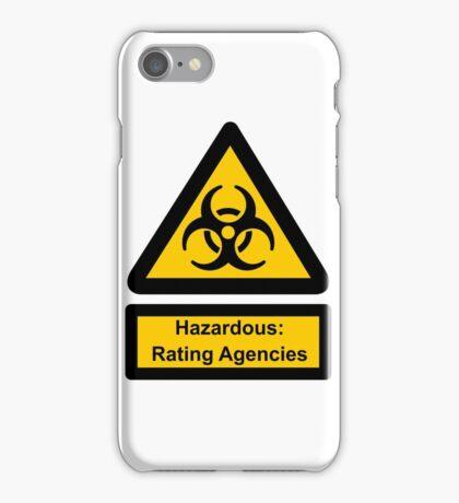 Hazardous Agencies iPhone Case/Skin