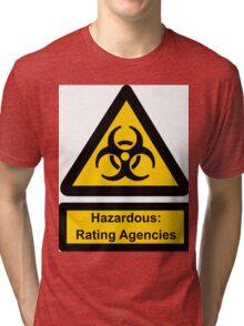 Hazardous Agencies Tri-blend T-Shirt