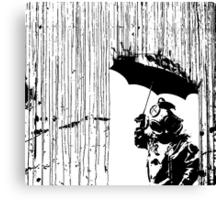 toxic rain     Canvas Print
