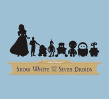 Snow White and the Seven Droids by macaulay830