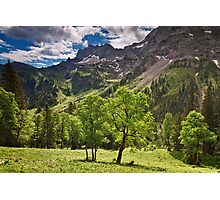 Alpine Light Photographic Print