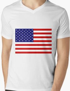USA death Mens V-Neck T-Shirt