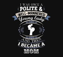 Lady Mom Women's Fitted Scoop T-Shirt
