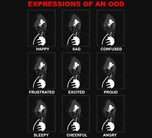 Expressions of an Ood T-Shirt