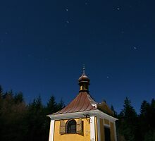Midnight at the Chapel of St Antonin by dalekenworthy