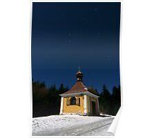 Midnight at the Chapel of St Antonin Poster