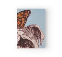Don't worry, it's only a butterfly. Hardcover Journal