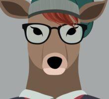 Hipster Deer Sticker