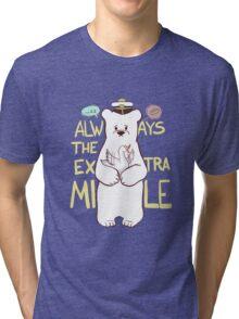 Always The Extra Mile - Dark Ver. Tri-blend T-Shirt