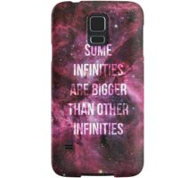 Some Infinities are Bigger than Other Infinities Samsung Galaxy Case/Skin