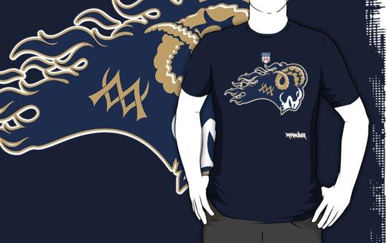 Rams of the underworld football by Summo13