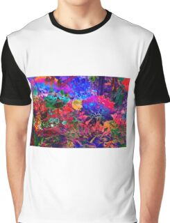 FLORAL DREAM of SUMMER Graphic T-Shirt