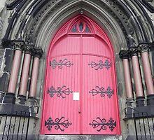 Red Door by Martha Medford