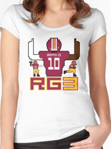 RG3 Tecmo style! Women's Fitted Scoop T-Shirt