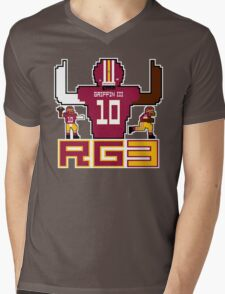 RG3 Tecmo style! Mens V-Neck T-Shirt