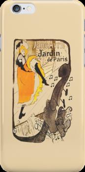 JARDIN DE PARIS iPHONE CASE by Catherine Hamilton-Veal  ©