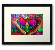Bristol Love Framed Print
