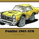 Pontiac 1965 GTO - Muscle Car by RiverbyNight