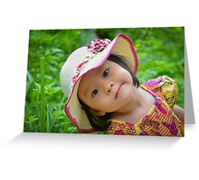 smiling child Greeting Card