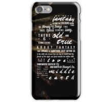 We Read Fantasy iPhone Case/Skin