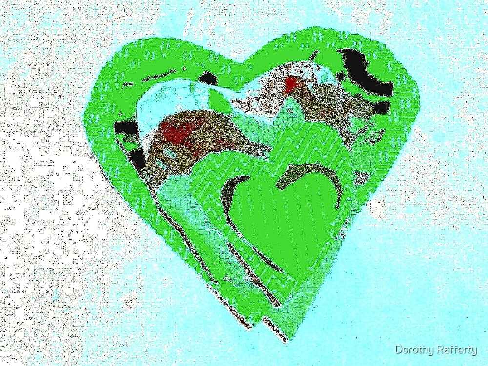 Irish-Clover-Love-Heart by Dorothy Rafferty