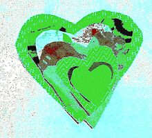 Irish-Clover-Love-Heart by Dorothy Rafferty