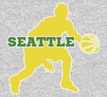 Seattle Basketball One Piece - Long Sleeve