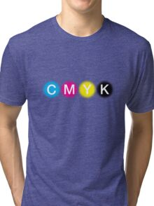CMYK 1 Tri-blend T-Shirt