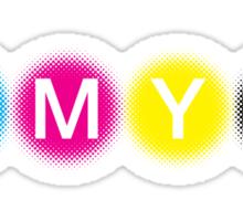 CMYK 1 Sticker