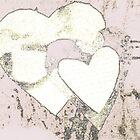 White-Vanilla-Heart by Dorothy Rafferty