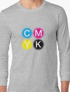 CMYK 2 Long Sleeve T-Shirt