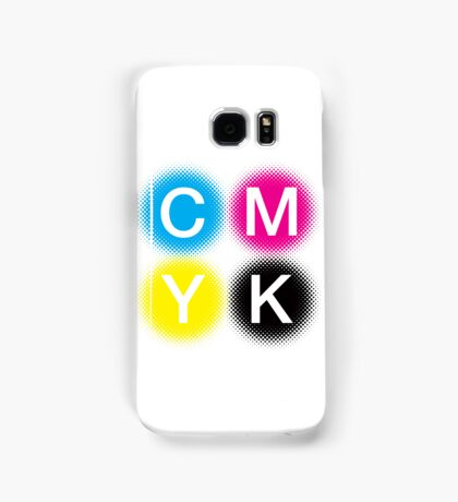CMYK 2 Samsung Galaxy Case/Skin