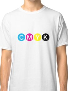 CMYK 3 Classic T-Shirt